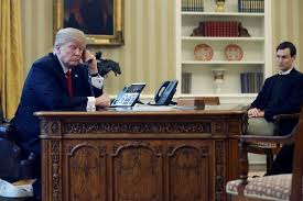 Trump In The Oval Office Saudi King Agrees In Call With Trump To Support Syria Yemen Safe