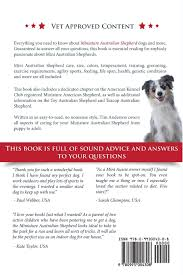 australian shepherd kennel club miniature australian shepherd owner u0027s manual how to care train