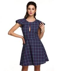 patterned mini short sleeve casual dress online shopping lebanon