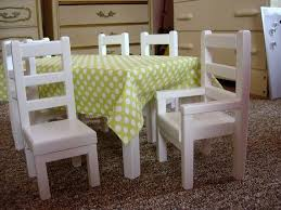 american doll dining table special order doll dining table and chairs by paynestdollboutique