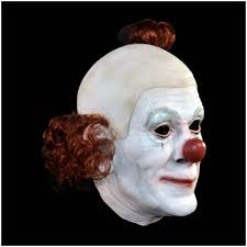 circus clown mask mad about horror