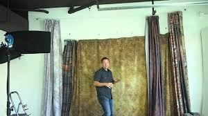 Studio Curtain Background Tip Of The Week Cheap Backdrop Mount Youtube