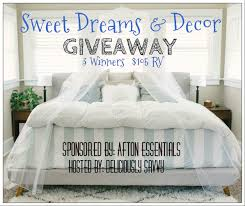 Home Decor Giveaway by Sweet Dreams U0026 Decor Giveaway Temppatt
