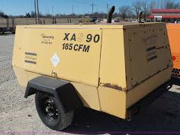 1995 atlas copco xas 90 air compressor item bl9710 sold