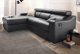 sofa mit federkern atlantic home collection polsterecke mit relaxfunktion und