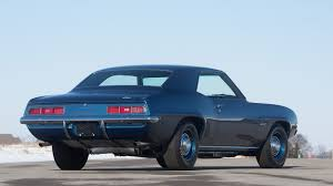 dusk blue camaro 1969 chevrolet camaro zl1 s208 indy 2016