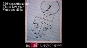 variac wiring diagram youtube