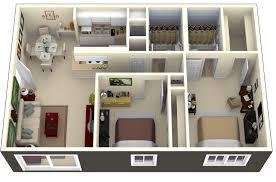 two bedroom for vhouse plans shoise com