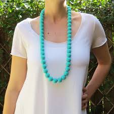 silicone bead necklace images Oh mama necklace jelly beads australia jpg