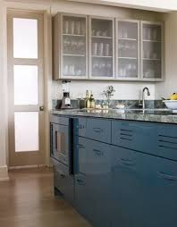 blue kitchen cabinets ideas diy beadboard wallpaper cabinets nest of bliss diy blue kitchen