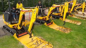 diggerland amusement park lets kids operate construction equipment