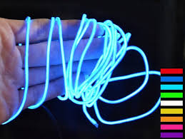 buy blue led battery operated rope lights with blue mesh