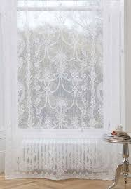 cotton lace curtain panels alexandra