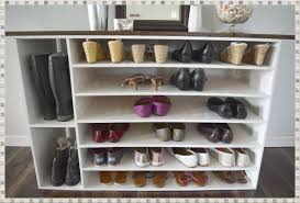 Baxton Studio Glidden Shoe Cabinet by Tall Shoe Rack Versatile And Very Practical Home Decorations Ideas