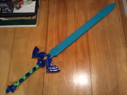 Master Sword Papercraft - skyward sword master sword by fangirlofartsyness on deviantart
