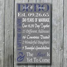50th anniversary gift ideas for parents 30th wedding anniversary gift ideas for my husband lading for