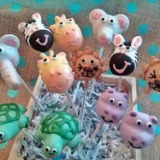 animals buffalo cake pops
