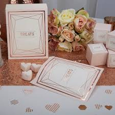 rose gold candy buffet bags sweetie bags wedding favour bags
