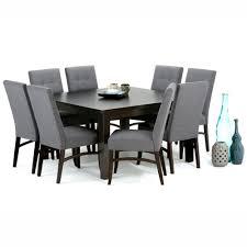 slate dining room table simpli home ezra 9 piece slate grey dining set axcds9ez gl the