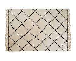 Beni Ourain Rug Uk Beni Ourain Woolen Berber Rug With Diamond Pattern From Moroccan