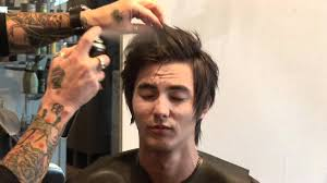 hair care for men how to style medium hair for men youtube