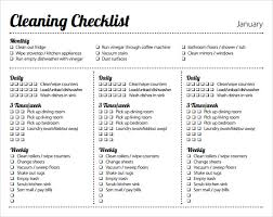 Bathroom Cleaning Schedule Form Sample Cleaning Schedule Template Cleaning Schedule Template