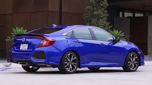 2017 honda civic si sedan and coupe exterior interior driving