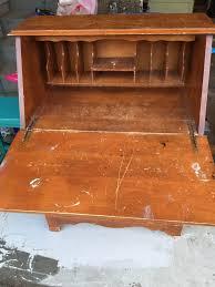 start at home vintage fold down desk