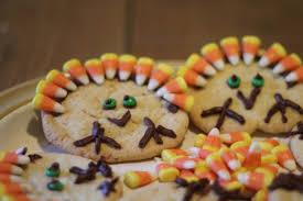 sugar cookie turkeys for thanksgiving