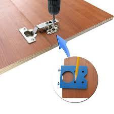 kitchen cabinet door hinge drill bit diy tools workshop equipment 35mm abs concealed hinge
