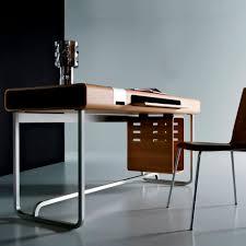 Computertisch Moderner Computertisch Aus Eiche Aus Wenge Rechteckig