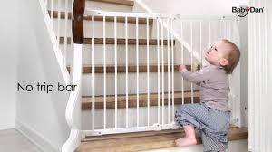 Child Stair Gates Flexi Fit Metal Safety Gate From Baby Dan Youtube