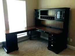 Office Desk With Hutch L Shaped L Desk With Hutch L Desk L Shape Desk Desk Office Desks L Shaped L