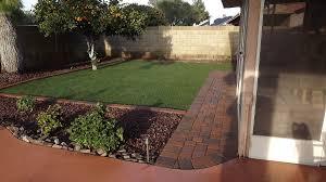 phoenix landscaping design and installation gravel planting