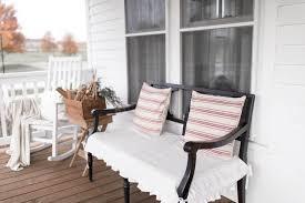 rustic farmhouse front porch decor 35 homedecort 100 farmhouse porch fall home tour vintage style porch cassie