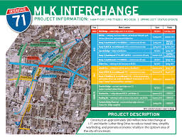 Map Of Mason Ohio by Pages I 71 Mlk Interchange Project Info