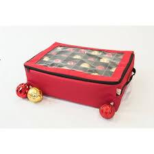 christmas ornament storage treekeeper santa s bags premium christmas ornament storage