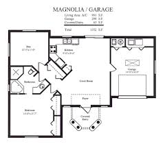 garage floor plan ideal cottage for leisure living 57167ha 1st beautiful custom built home plans 4 garage guest house floor plans cabin plans pinterest garage floor