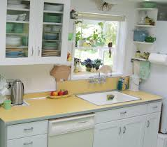 How To Remodel A Galley Kitchen Maile Remodels A Dark 1970s Kitchen Into A Sunny 1940s Delight