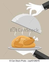 cloche cuisine cloche serveur poulet rôti argent cloche plat
