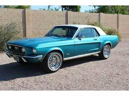 1968 Mustang Fastback Black 1968 Ford Mustang For Sale On Classiccars Com 133 Available