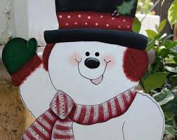 Outdoor Wooden Christmas Yard Decorations by Snowman Christmas Or Winter Sign Wood Christmas Outdoor Yard