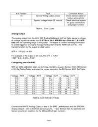 aem analog e85 wideband uego gauge e85 afr 305143 user manual