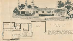 l shaped ranch floor plans majestic looking 11 1950s house plan magazines 17 best images