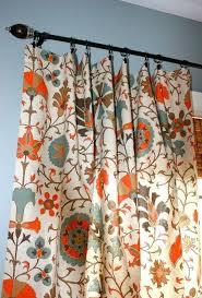 Burnt Orange Curtains Sale Navy Blue And Burnt Orange Curtains Rod Stick Hang Style Curtains