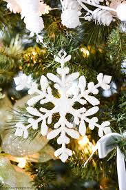 winter tree handmade ornaments a pumpkin and a princess