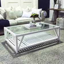 Coastal Style Coffee Tables Coastal Washed Solid Oak Coffee Table Ideas For The House