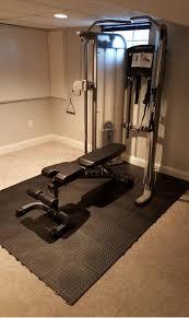 Exercise Floor Mats Over Carpet by Fatigue Floor Tile Aerobic Staylock Bump Top