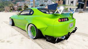 cambered supra photo collection rocket bunny toyota supra