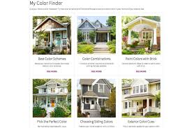 exterior color combinations for houses paint color match apps u0026 tools to help you choose